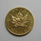 メイプルリーフ金貨 2分の1オンス