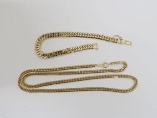 K18 18金 喜平ブレスレット ネックレス