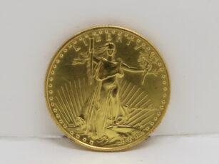 アメリカ金貨 自由の女神立像