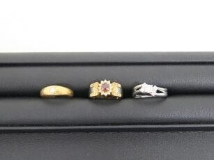 ダイヤモンド ルビー 指輪