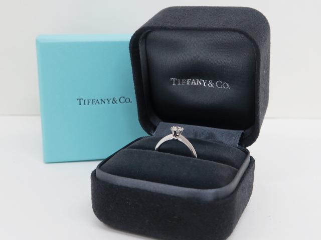 ティファニー D0.33 ダイヤモンドリング