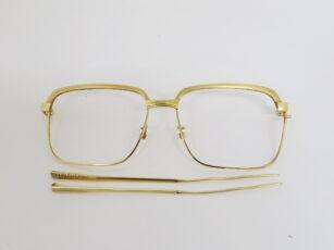 K18 金縁メガネ