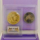 天皇陛下御即位記念10万円金貨500円白銅貨