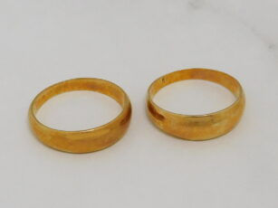 K18指輪 買取り 20210502