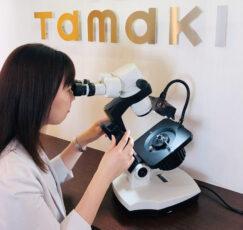 顕微鏡使用写真
