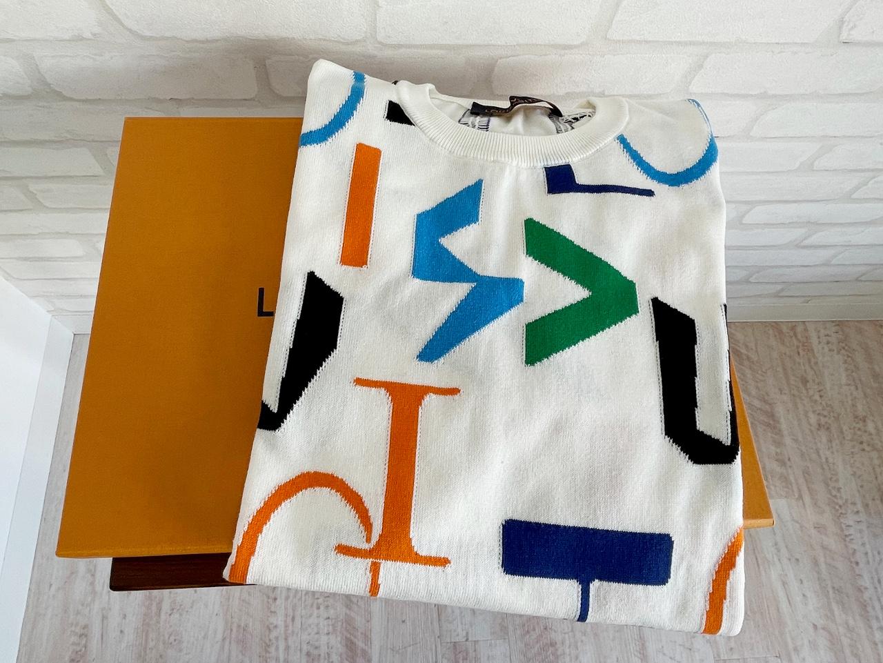 ルイヴィトン コットンTシャツ RM202M